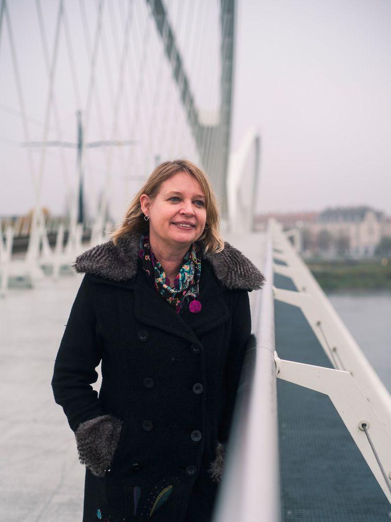 Birte Wassenberg, directrice adjointe de Sciences Po Strasbourg et directrice du réseau Frontem.
